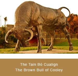 Statue of the Brown Bull of Cooley